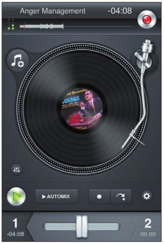 Крутятся диски в Scratch. Mix. DJ.