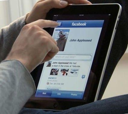 Социальные сети на iPad
