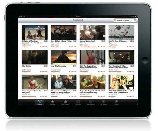 Информационная панель внизу экрана YouTube позволит вам искать и управлять YouTube-видео