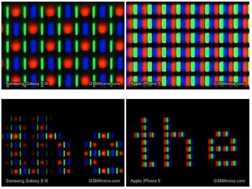 Снимки экранов под микроскопом