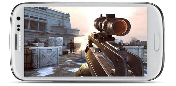 Игра на Samsung Galaxy S III