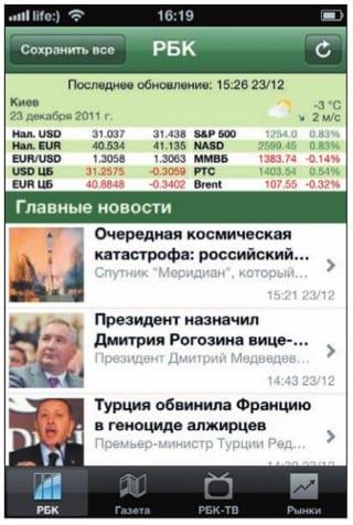 Лента новостей «РБК Новости, ТВ»