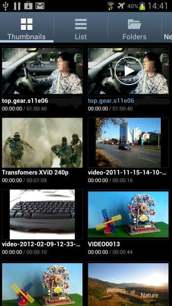 Видео-картинки, представляют предварительный просмотр видео
