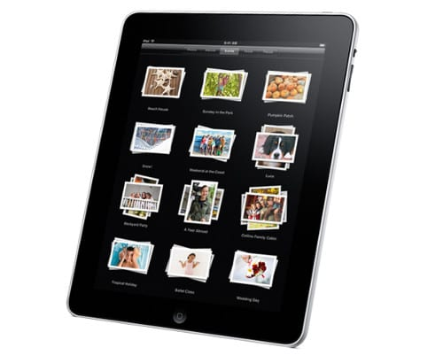 Приложение Photos на iPad
