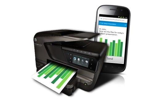 Печать файлов с мобильного телефона