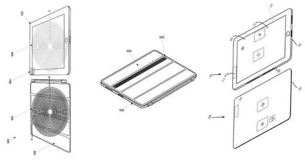 Беспроводное зарядное устройство встроенное в Smart Cover