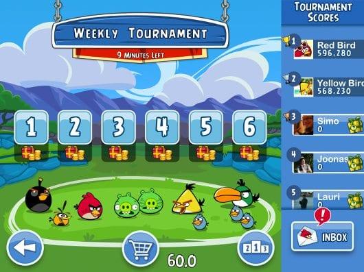Angry Birds Friends на IOS