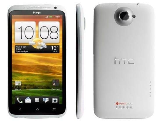 Внешний вид HTC One X