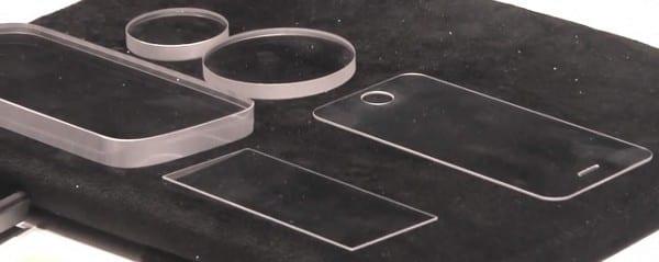 Cапфировое стекло для iPhone