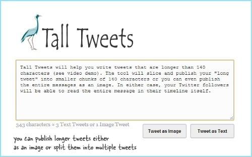 Tall Tweets v2.0