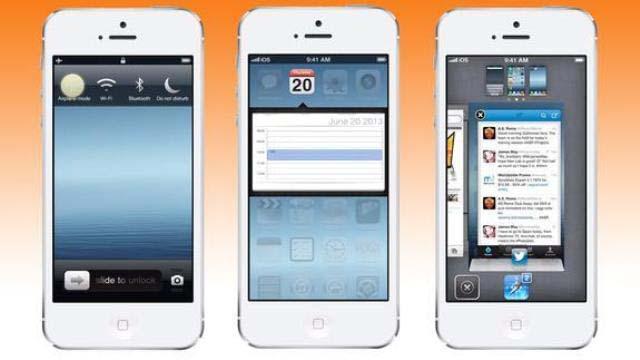 Новые функции iOS 7