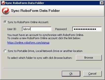 менеджер паролей AI RoboForm