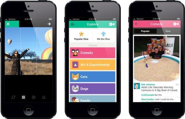 Обновление Vine для iOS
