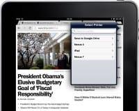 Загрузка веб-страниц как PDF-файлов в Chrome на iOS