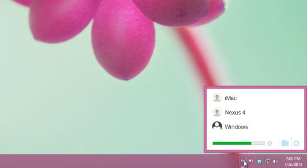 Простой перенос файлов между двумя компьютерами - Mac и PC