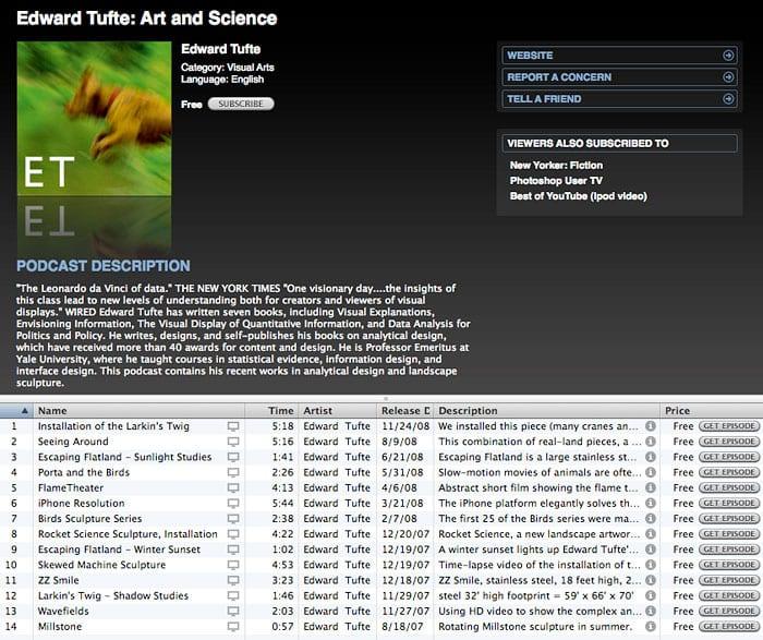 подкаст на iTunes
