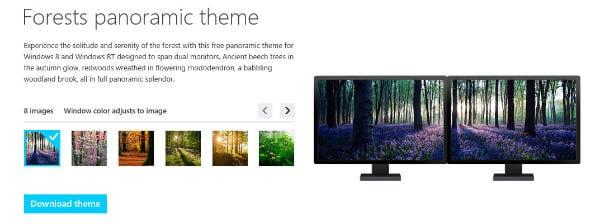Темы оформления Windows 8