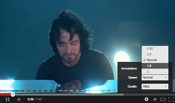 Смотреть YouTube в режиме Fast-Motion