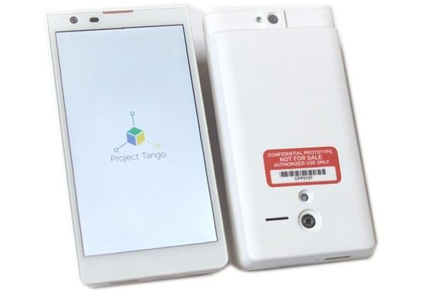 Прототип 3D смартфона Google