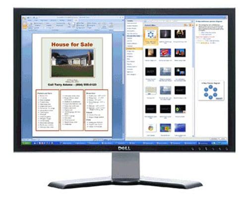Разделение экрана монитора в ОС Windows