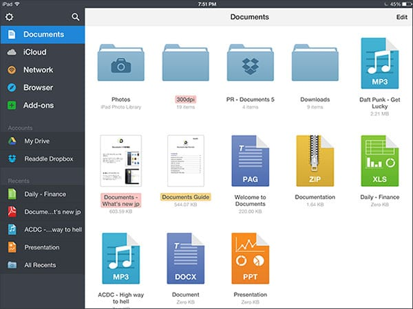Documents 5 от Readdle
