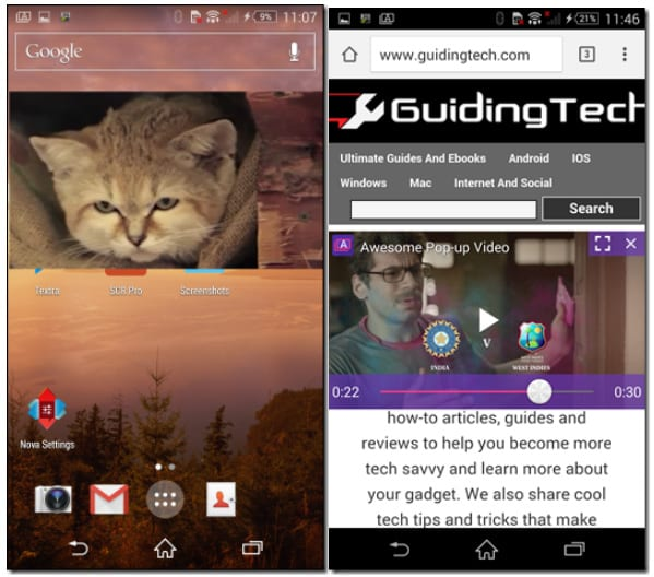 Awesome Pop-Up Video Player для Android