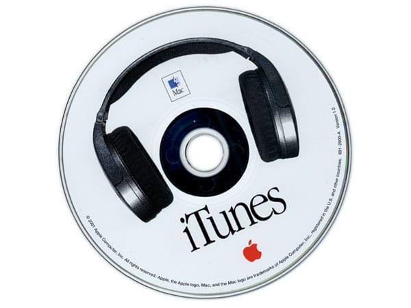 Импорт CD в iTunes