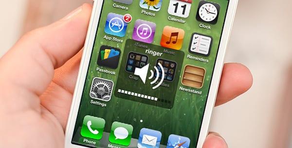 Регулировка звука на iPhone