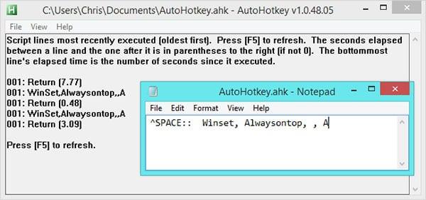 Настройка AutoHotkey