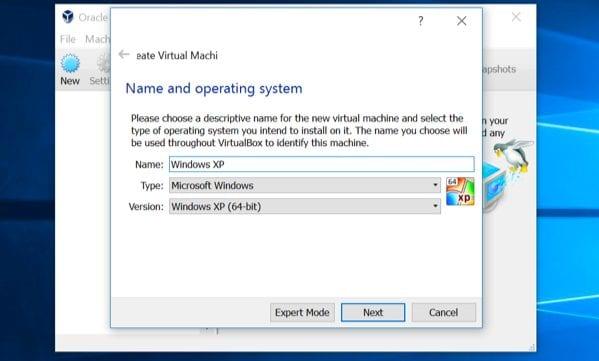Виртуальная машина на Windows 10