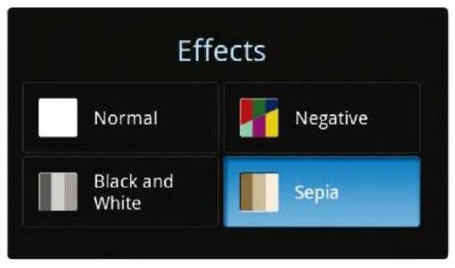 Эффекты в камере Android