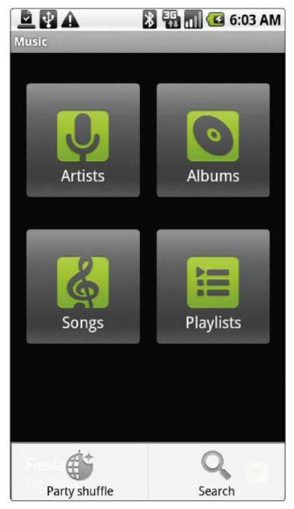 Музыкальные приложения Android