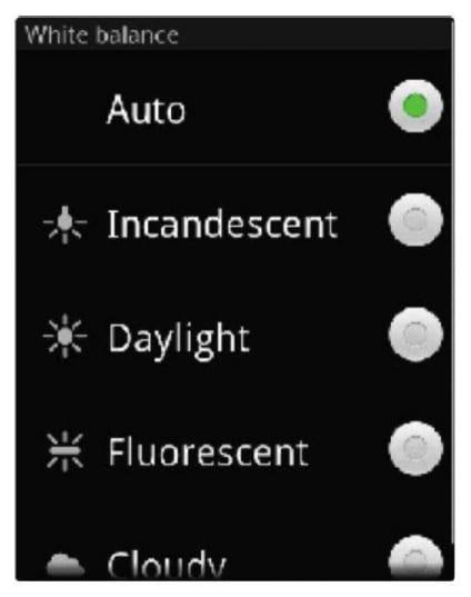Установка параметров видео в Android