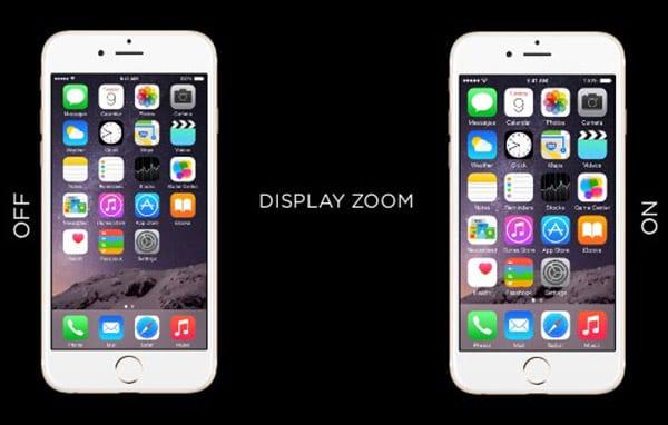 Display Zoom на iPhone 6 и 6 Plus