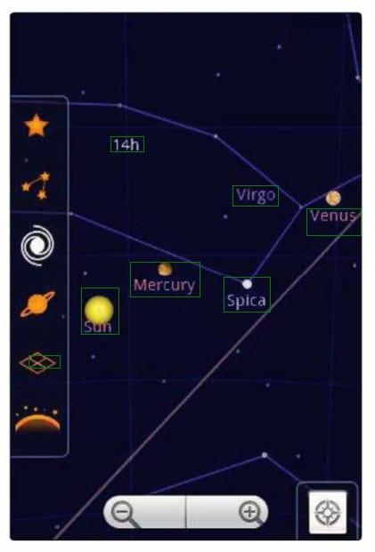Google Sky Maps