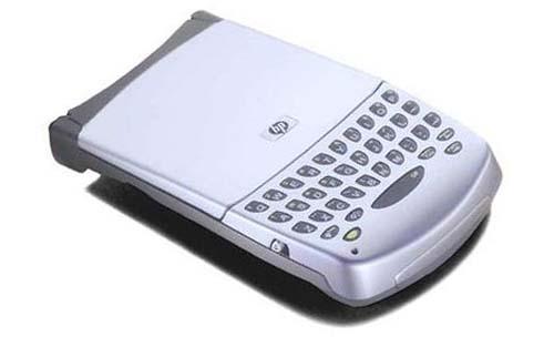 Микроклавиатура-жакет для КПК HP Jornada