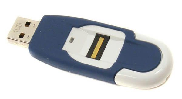 Накопитель с биометрической аутентификацией