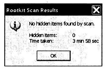 Результаты анализа носителей ПК (включая flash-drive) с помощью программы Sophos Anti-Rootkit