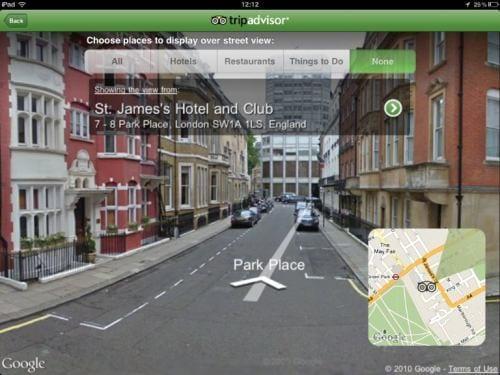 «Просмотр улиц Google» (Google Street View)