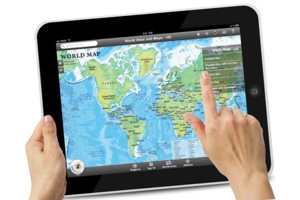 Приложение «Карты» (Maps) на iPad