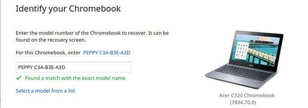 Переустановка ОС на Chromebook