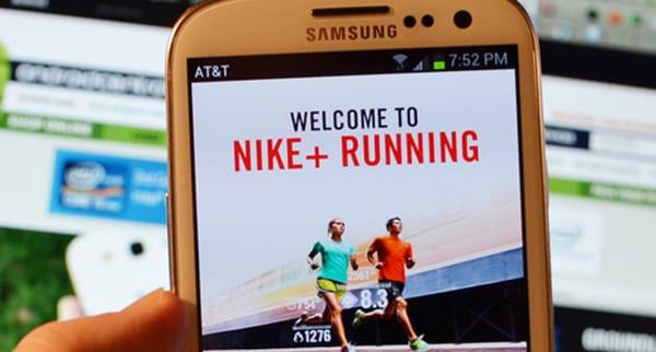 Приложение Nike+ Running