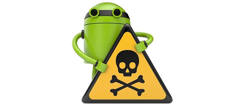 удаление  вируса из Android