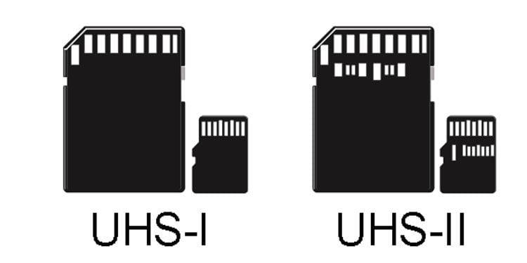 UHS-I или UHS-II