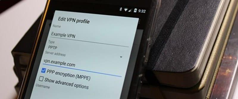 Настройка VPN на Android