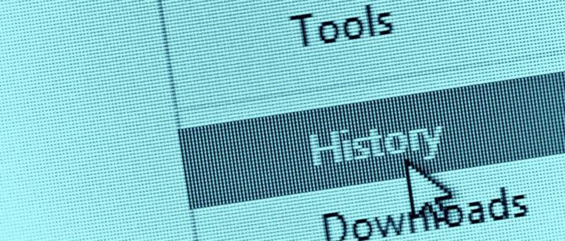 Интернет история в браузере