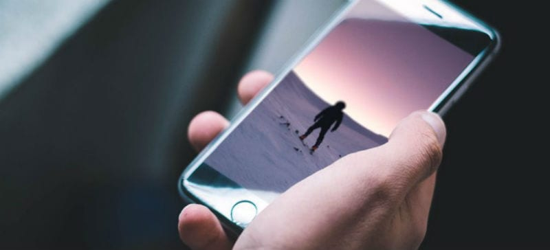Как вы держите свой iPhone